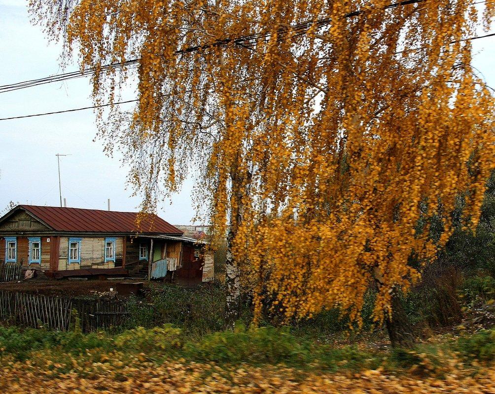 Деревенский  пейзаж... - Валерия  Полещикова