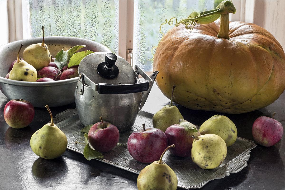 Осень в деревне... - Наталья