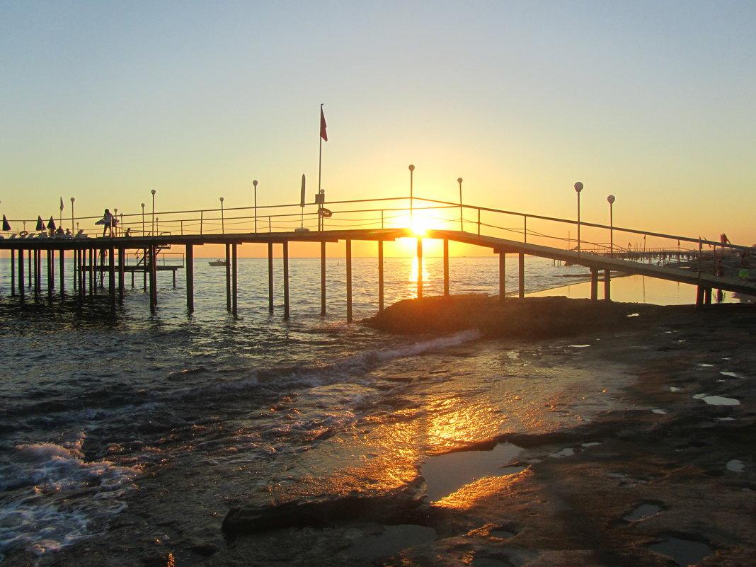 закат на море - tgtyjdrf