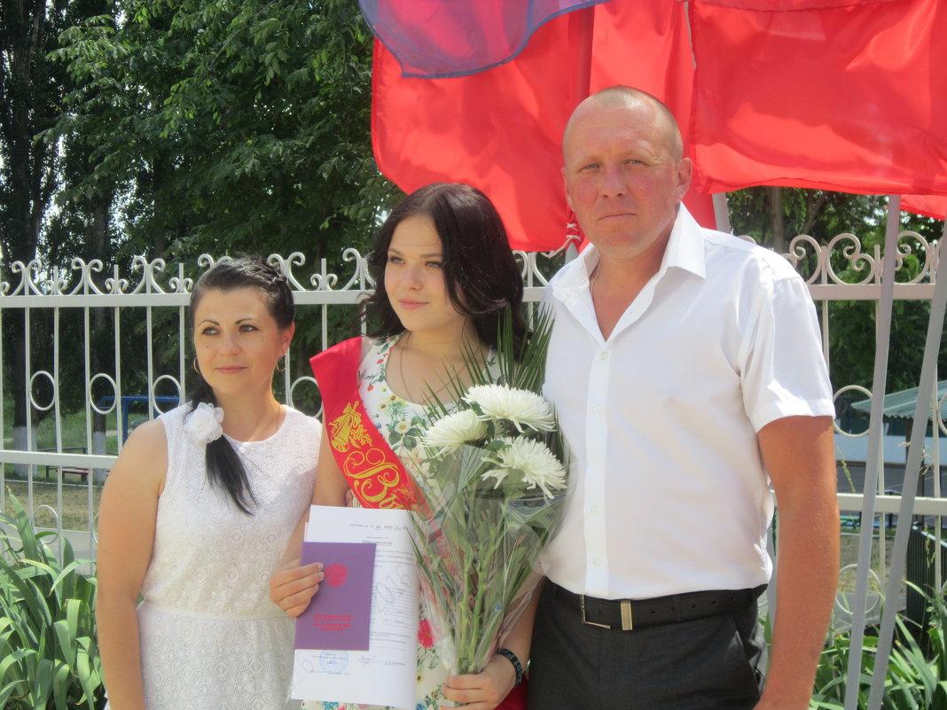 Алина закончила 9 классов - Виктор Казбанов