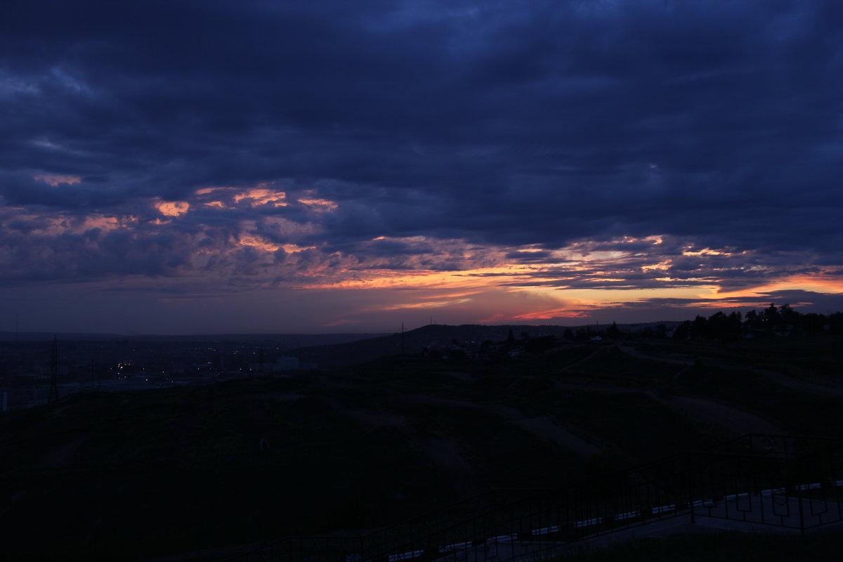 Закат над городом - Иван Балмасов