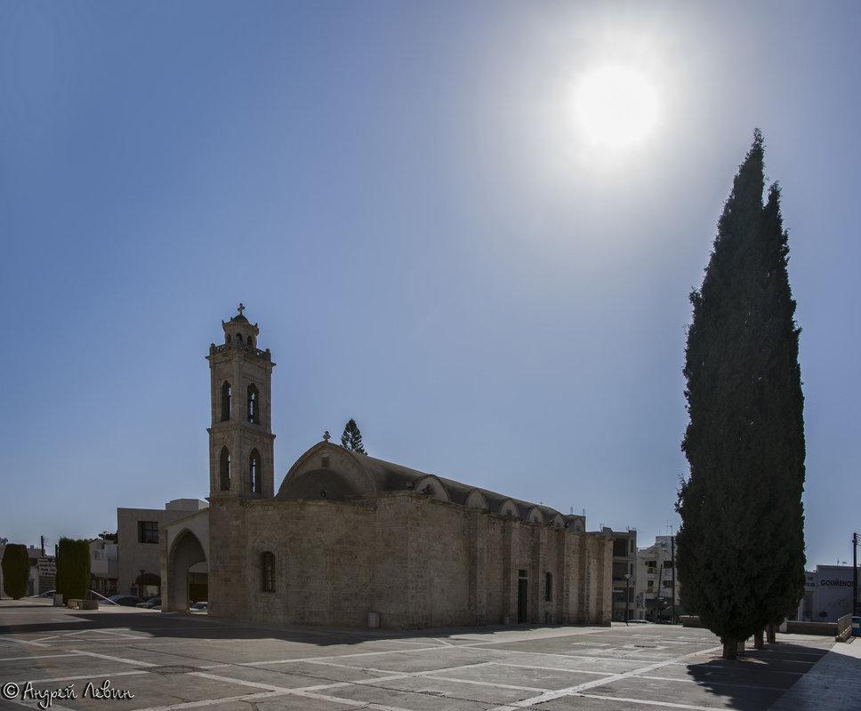 Кипр. Паралимни. Старая церковь Святого Георгия. ЖАРА - Андрей Левин