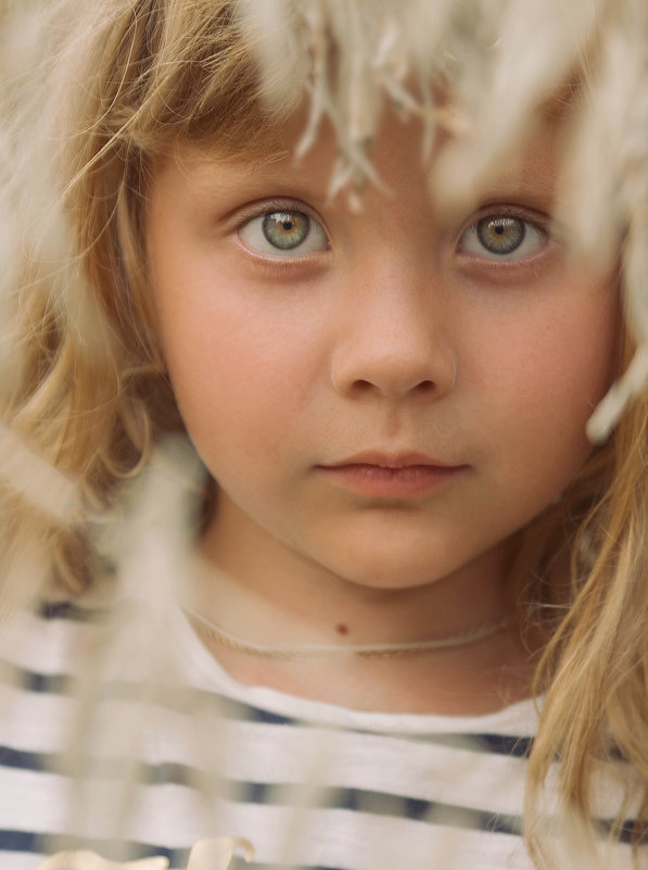 Детский портрет - Юлия Мухина