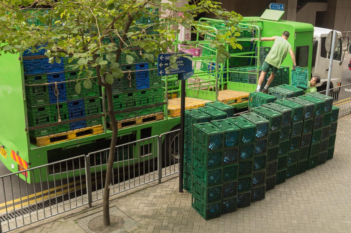 Зелёный город Гонконг) - Sofia Rakitskaia