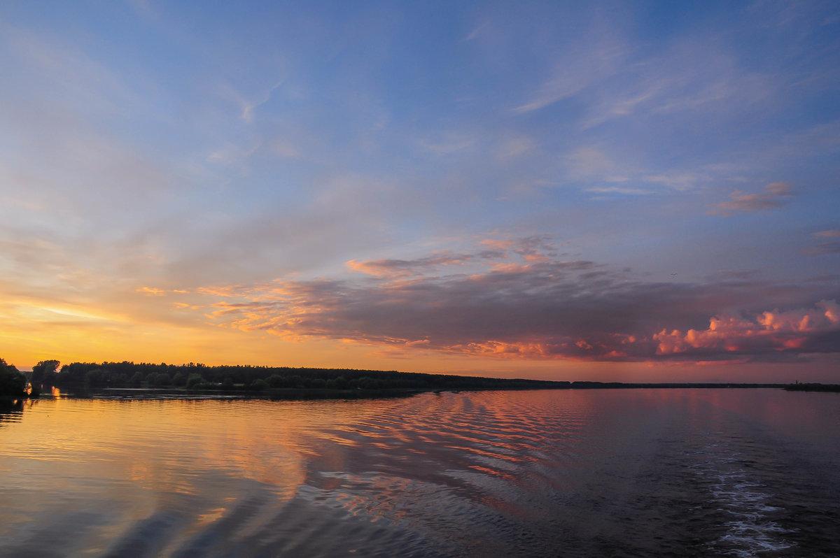 Закат на реке - Сергей Тагиров