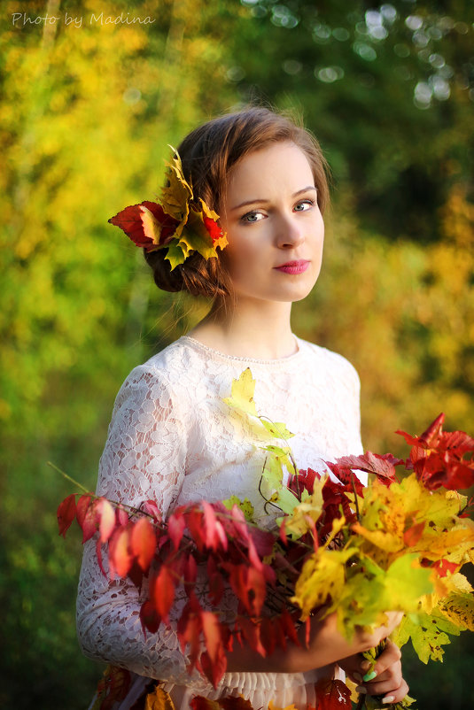 Мисс осень - Мадина Скоморохова