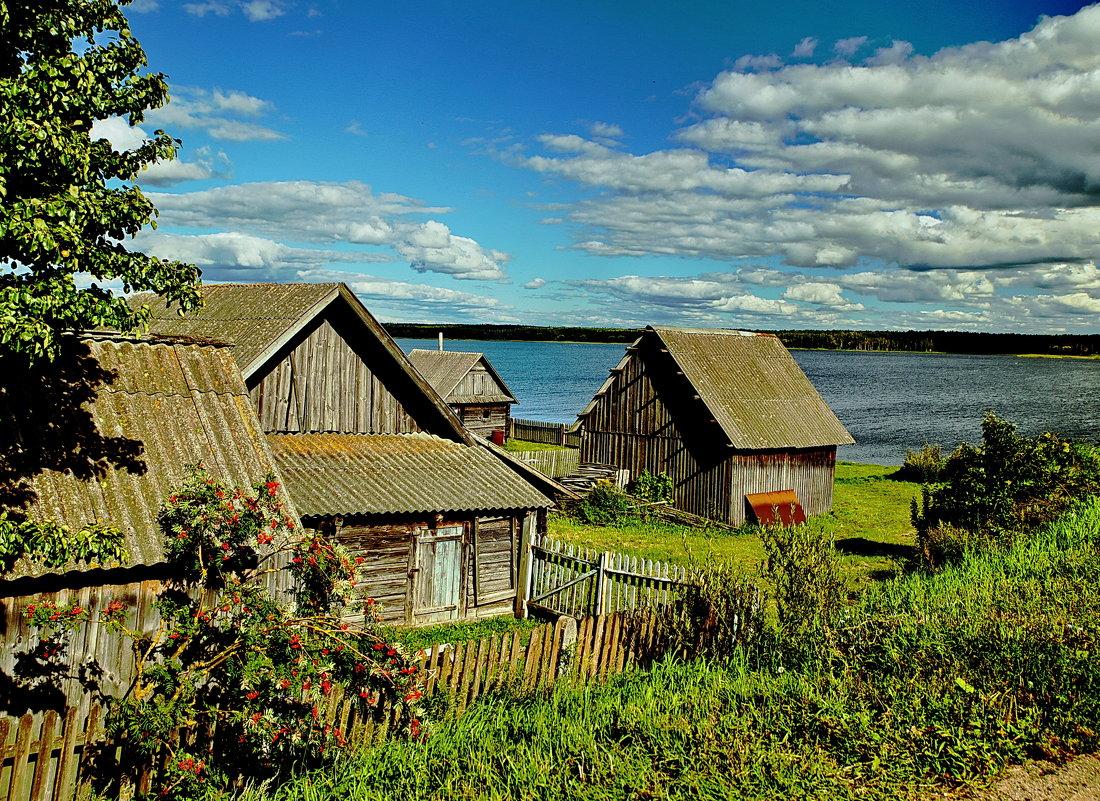 На Вилейском водохранилище - Владимир