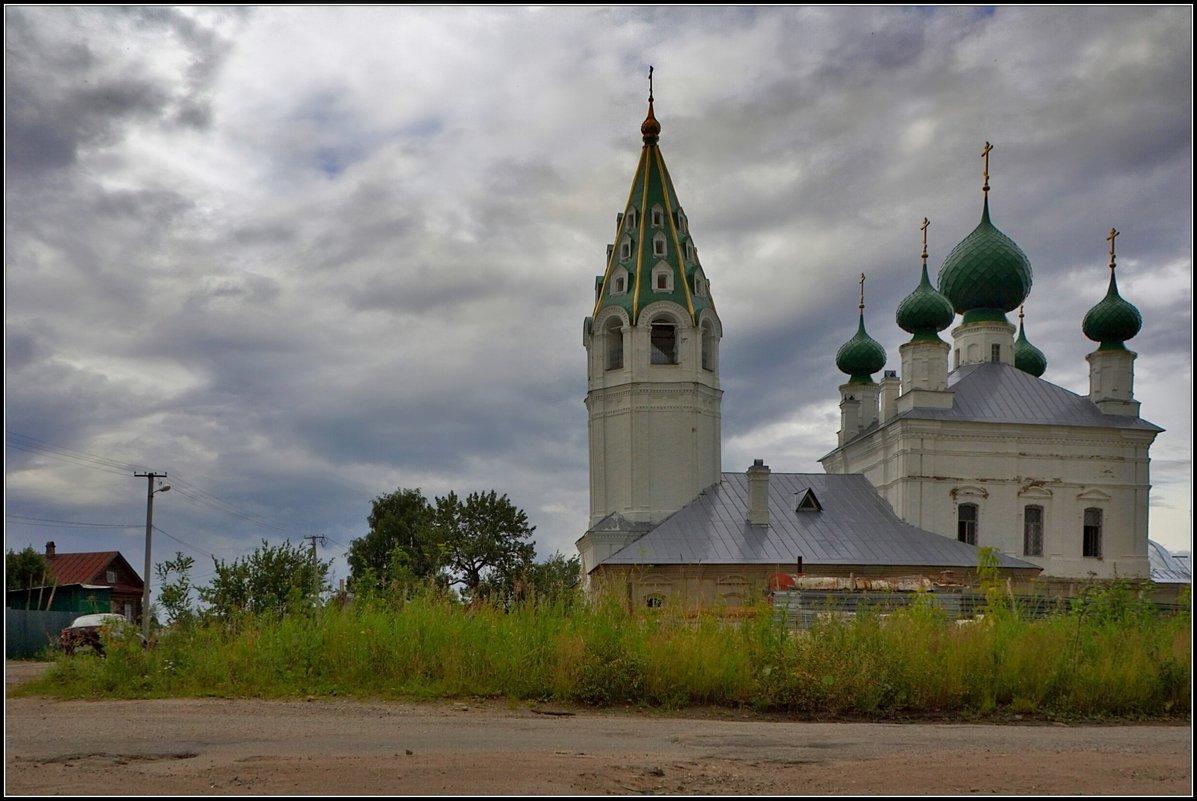 Церковь Михаила Архангела в Михайловском - Дмитрий Анцыферов