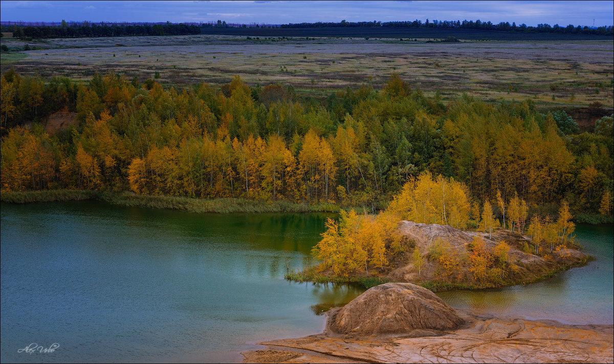 Разводила Осень краски на опушке - Alex Urbo