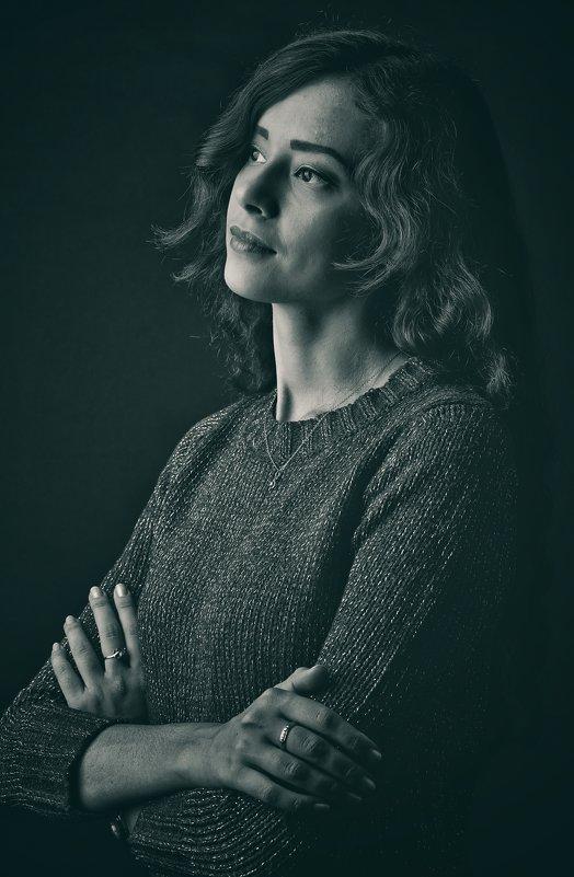 Портрет молодой девушки - Андрей Майоров