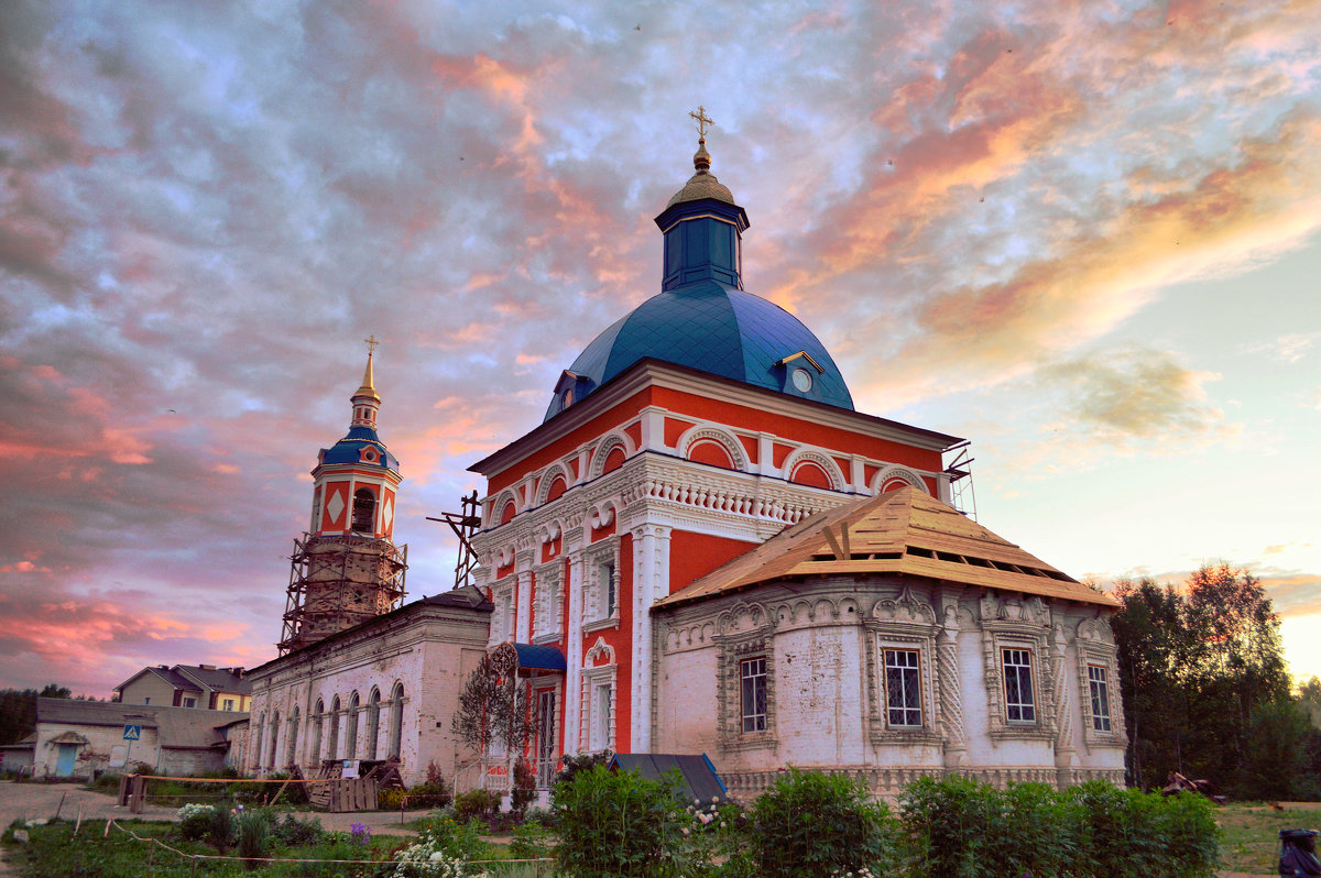 Восстановление храма - Дмитрий Стрельников