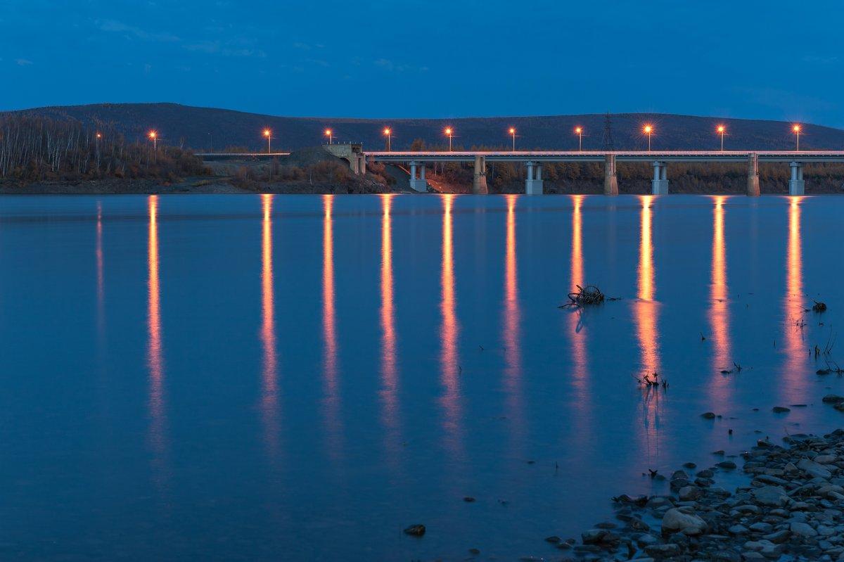 Мост через реку Колыма. - Ирина Токарева