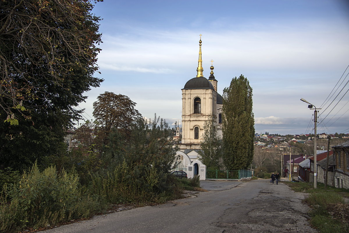 Старейшая в Ельце каменная церковь - Яков Реймер