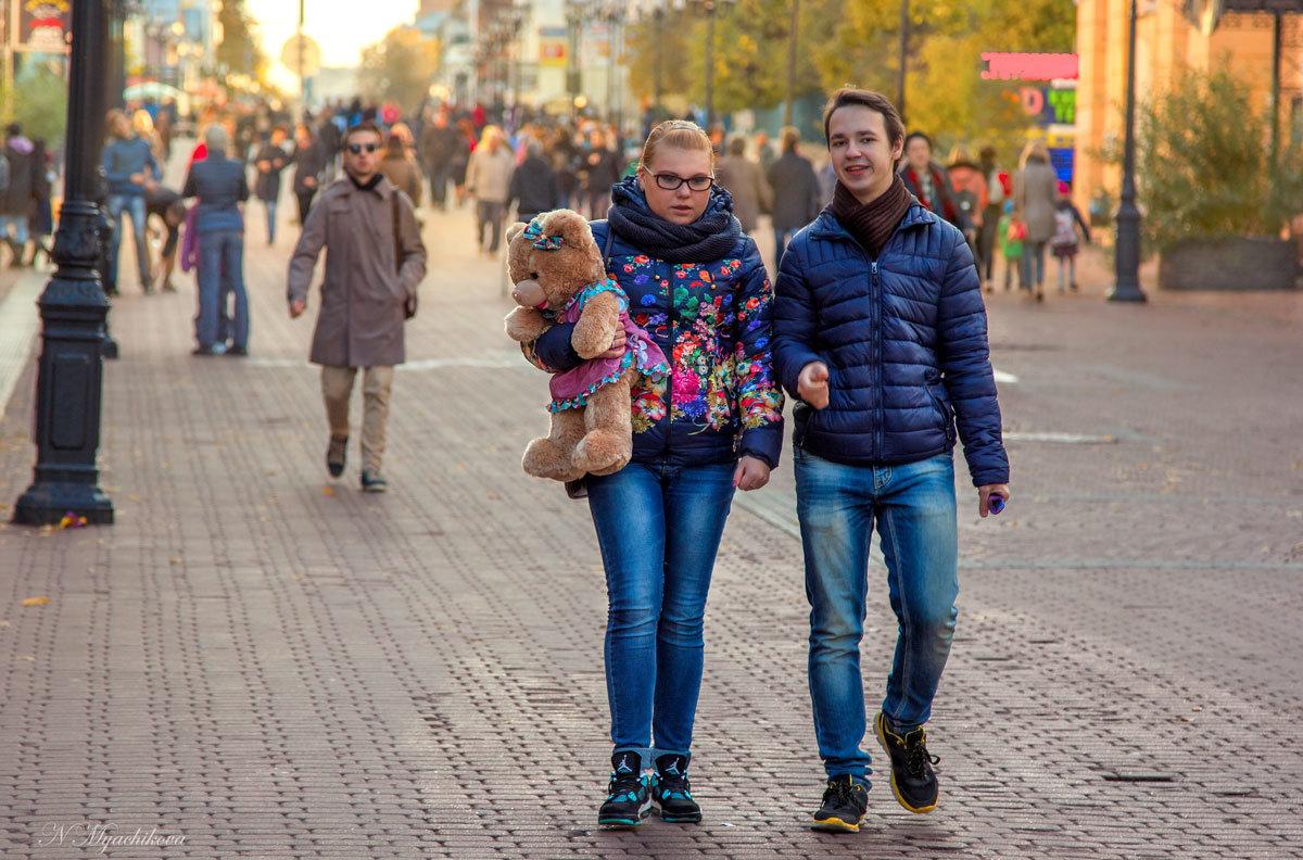 Просто пешеходы - Наталья Мячикова