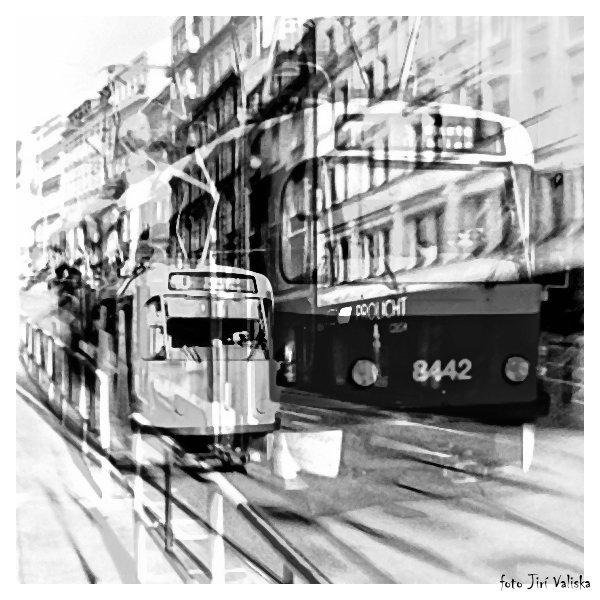 Прага Смихов, серийный номер автомобиля 8442 - Jiří Valiska