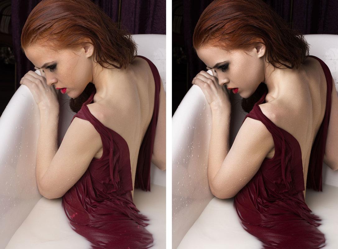 модель - Елена Фёдорова