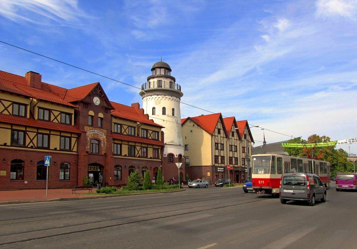 Городской пейзаж - Сергей Карачин