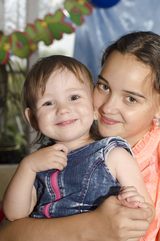 две сестрёнки - Ольга Русакова