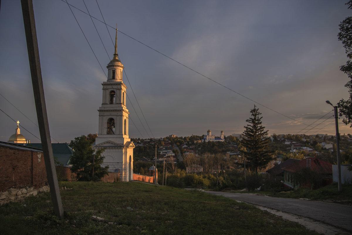Вечер. Рабочий посёлок. Елец - Яков Реймер