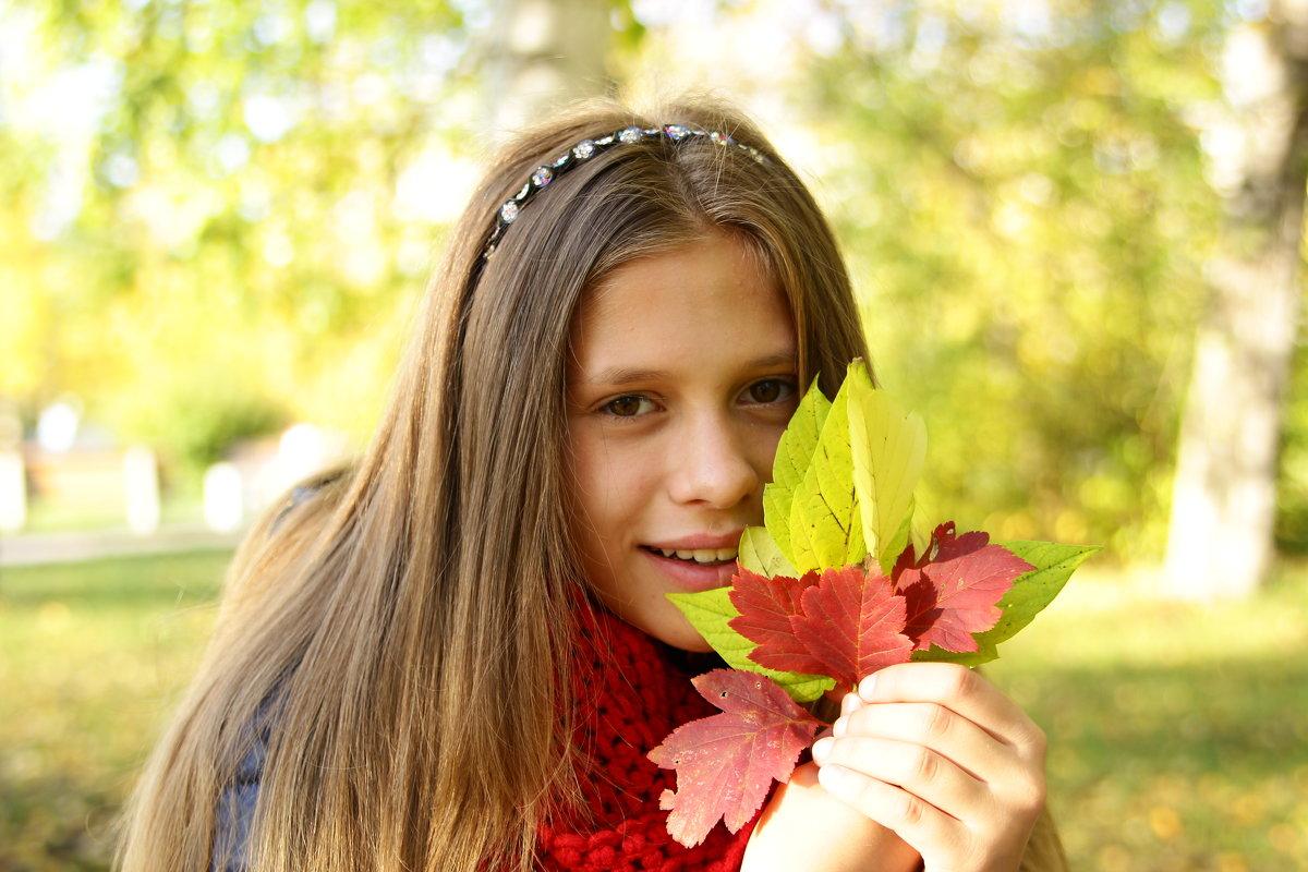 Осенний портрет - Еlena66