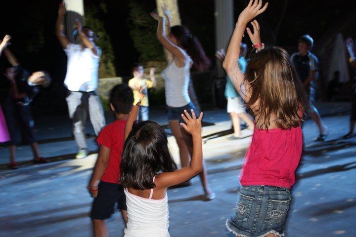 дети на дискотеки - Таня