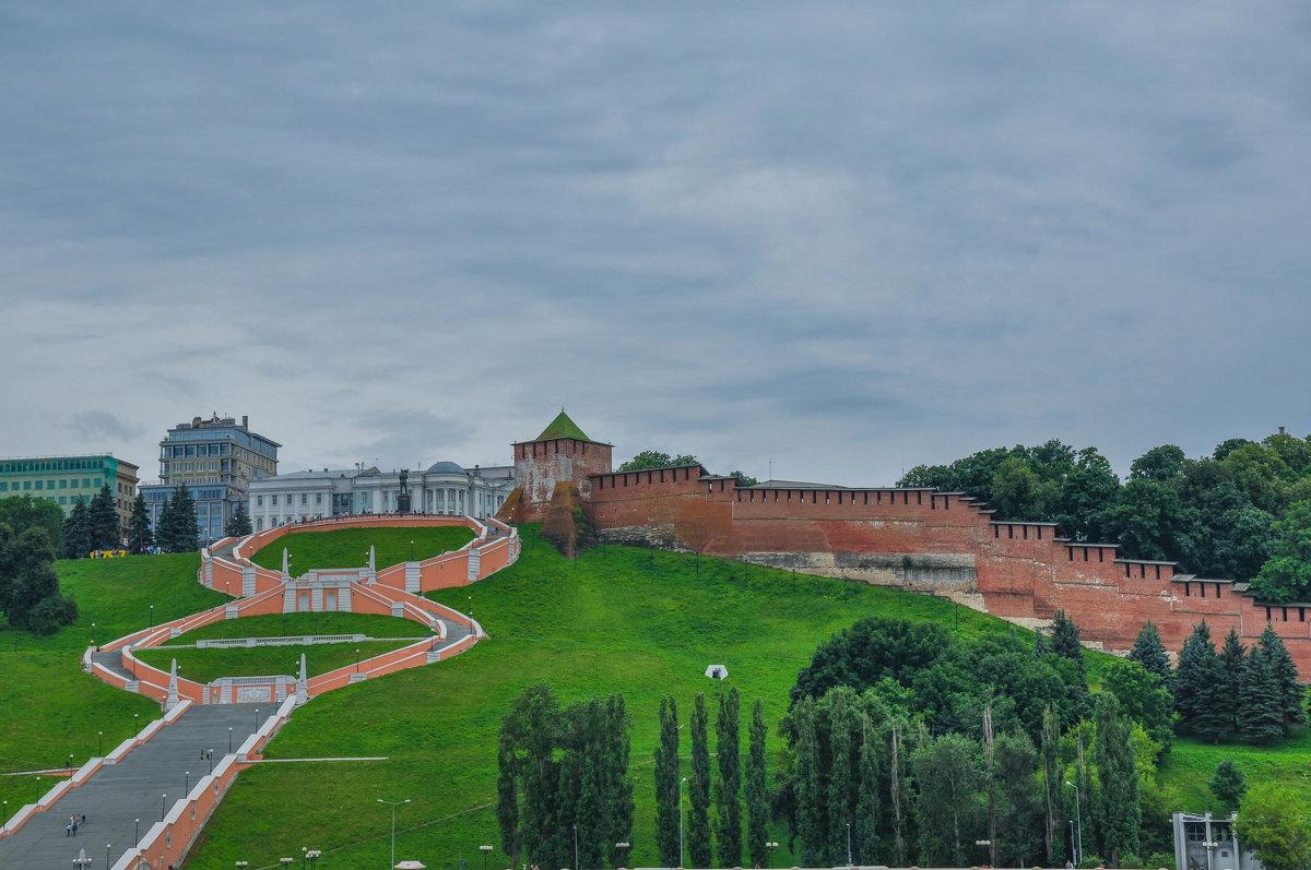 Главная лестница Нижнего Новгорода. Днем. - Сергей Тагиров