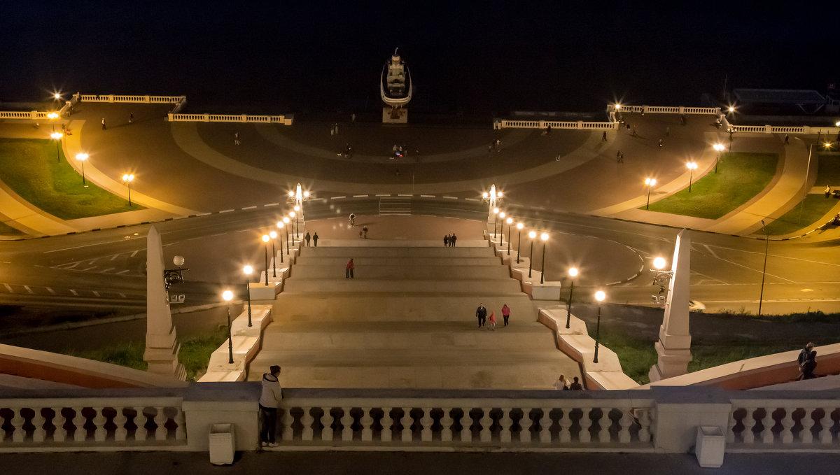 Чкаловская лестница (Нижний Новгород) - ИГОРЬ ЧЕРКАСОВ