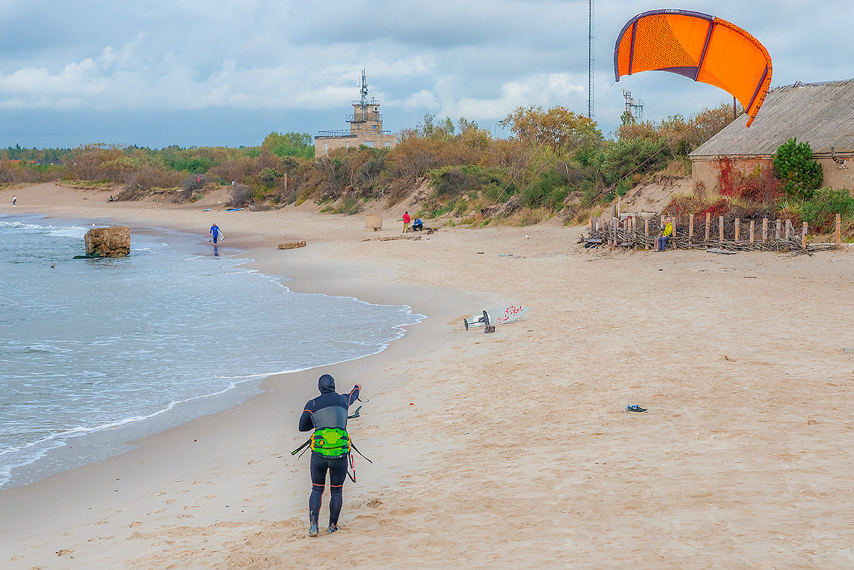 Сёрфинг на Балтике - Леонид Соболев
