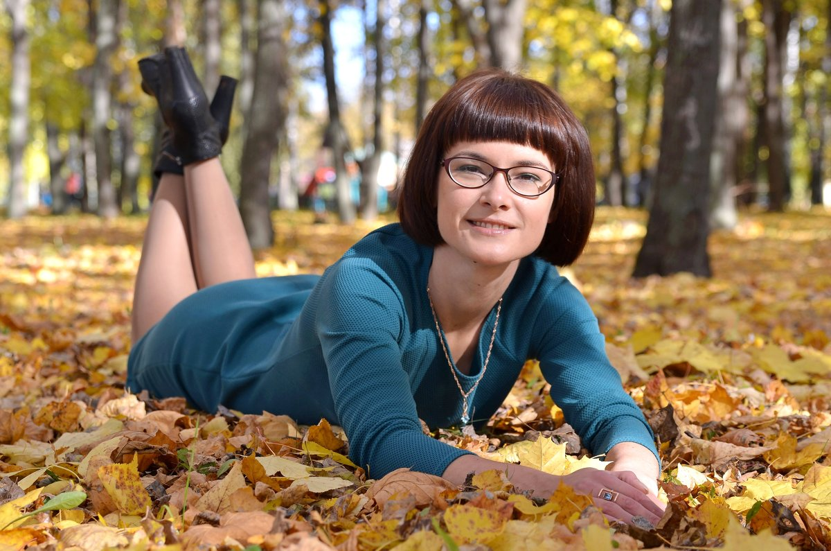 осень.. парк - Наталия Кожанова