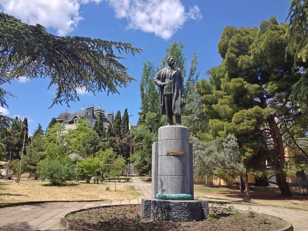 Памятник М.Горького. Алушта - Tata Wolf