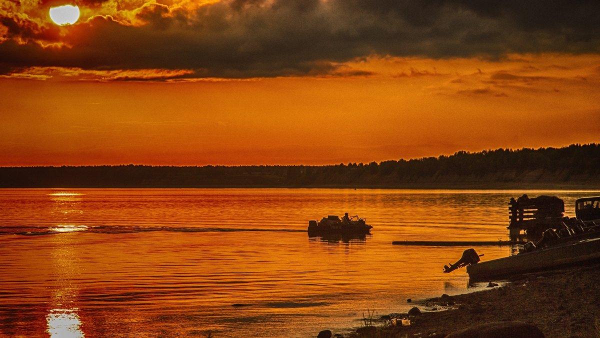 Закат на Северной Двине - Иван Клещин