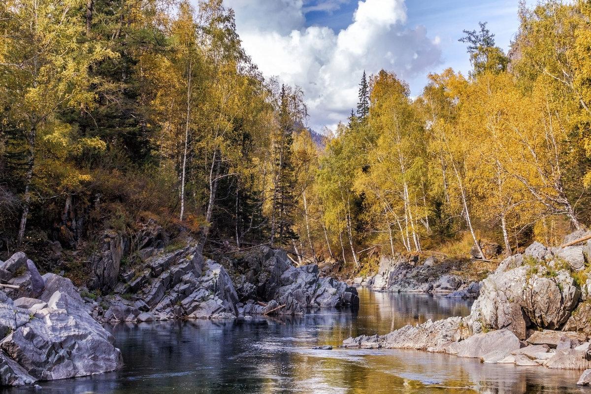 Осень на реке Кумир - Галина Шепелева