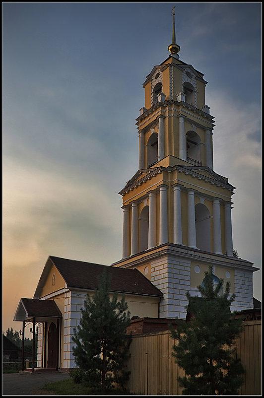 Церковь Знамения Честного Креста Господня в Капшино, 1822-1843 - Дмитрий Анцыферов