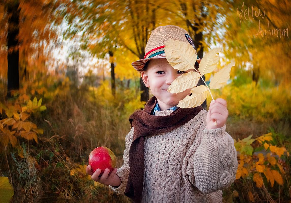 Осень в городе (парк2) - Ольга Егорова
