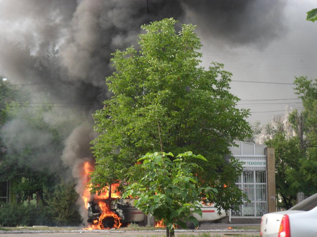 Пожар - Галина Дашевская