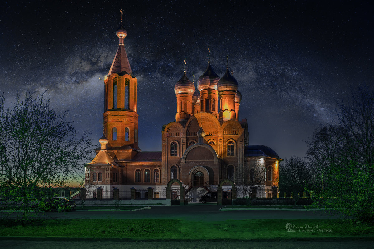 Всехсвятская церковь - Ринат Валиев