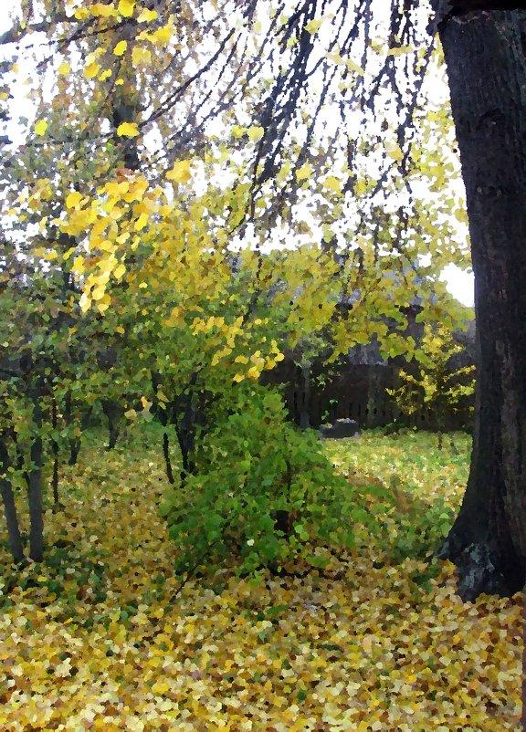 Осень за моим окном 2. - Михаил Попов
