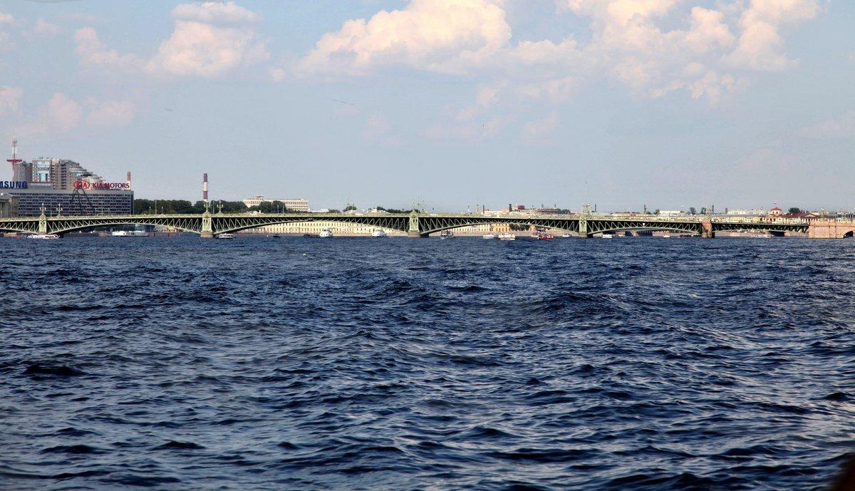Троицкий мост. Питер - Наталья