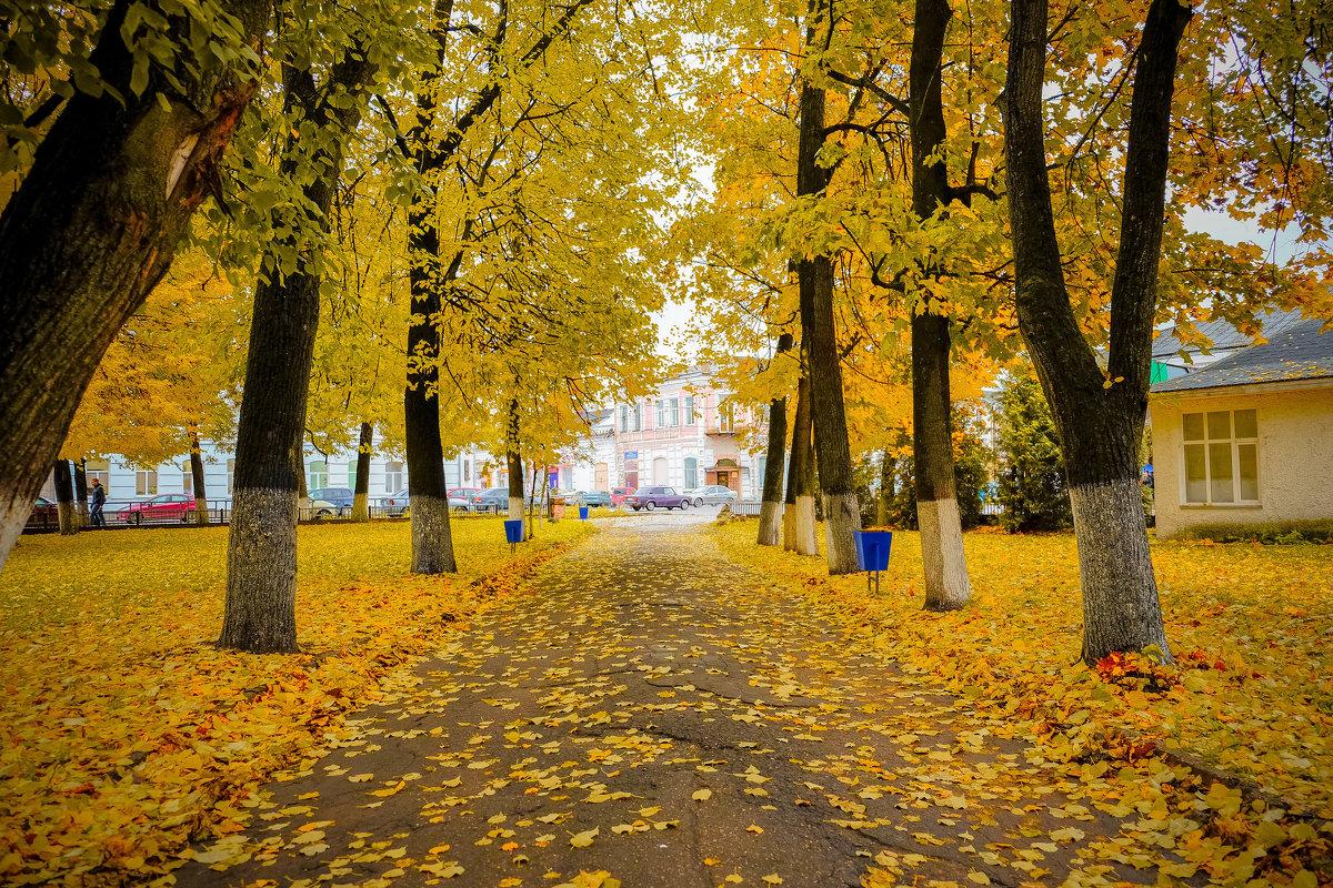 Как же красиво в Вышнем Волочке осенью (местами) - Дмитрий Колесников