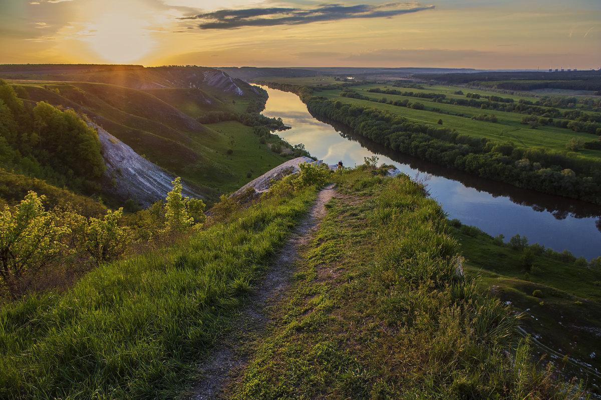 На меловых холмах весна 2016 - Юрий Клишин
