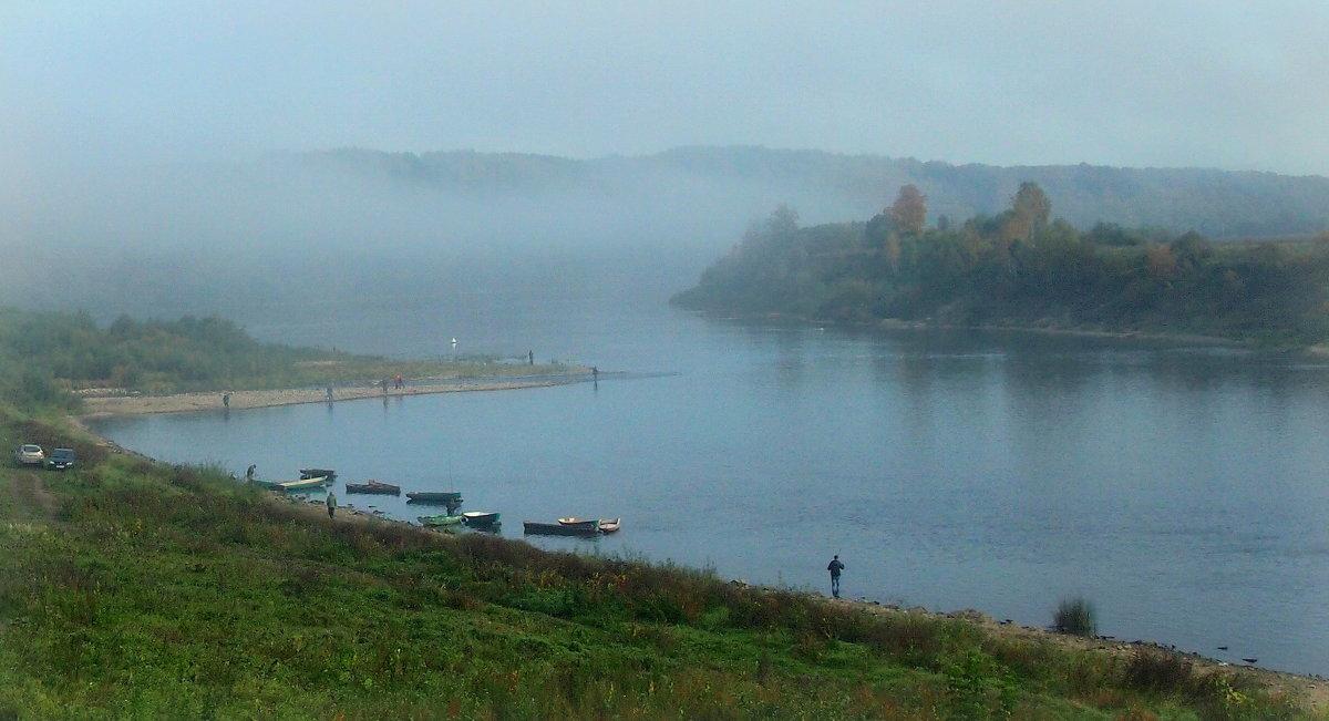 Туманное утро - Надежда Бахолдина