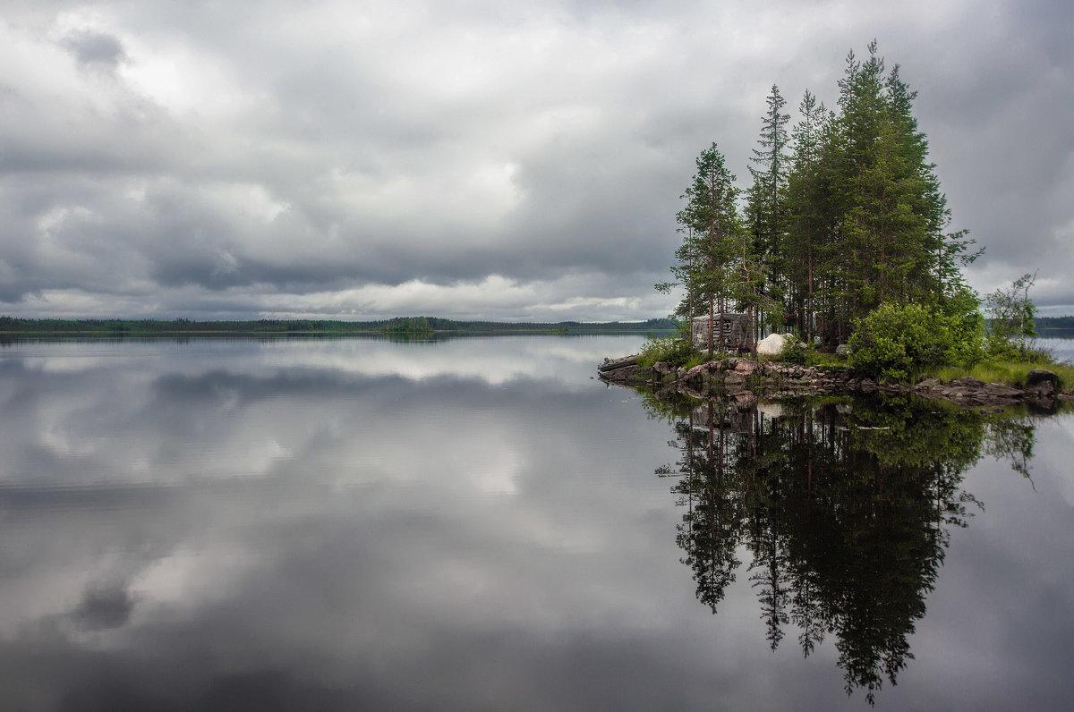 Остров и озеро. - Sven Rok
