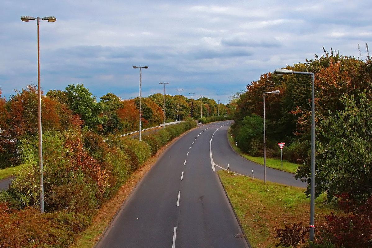 Дорога в октябре - Alexander Andronik