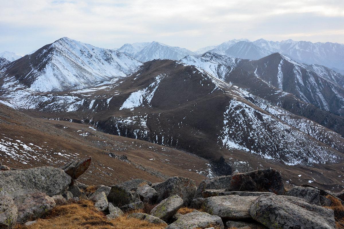 вечерние горы выше 3000 м - Горный турист Иван Иванов