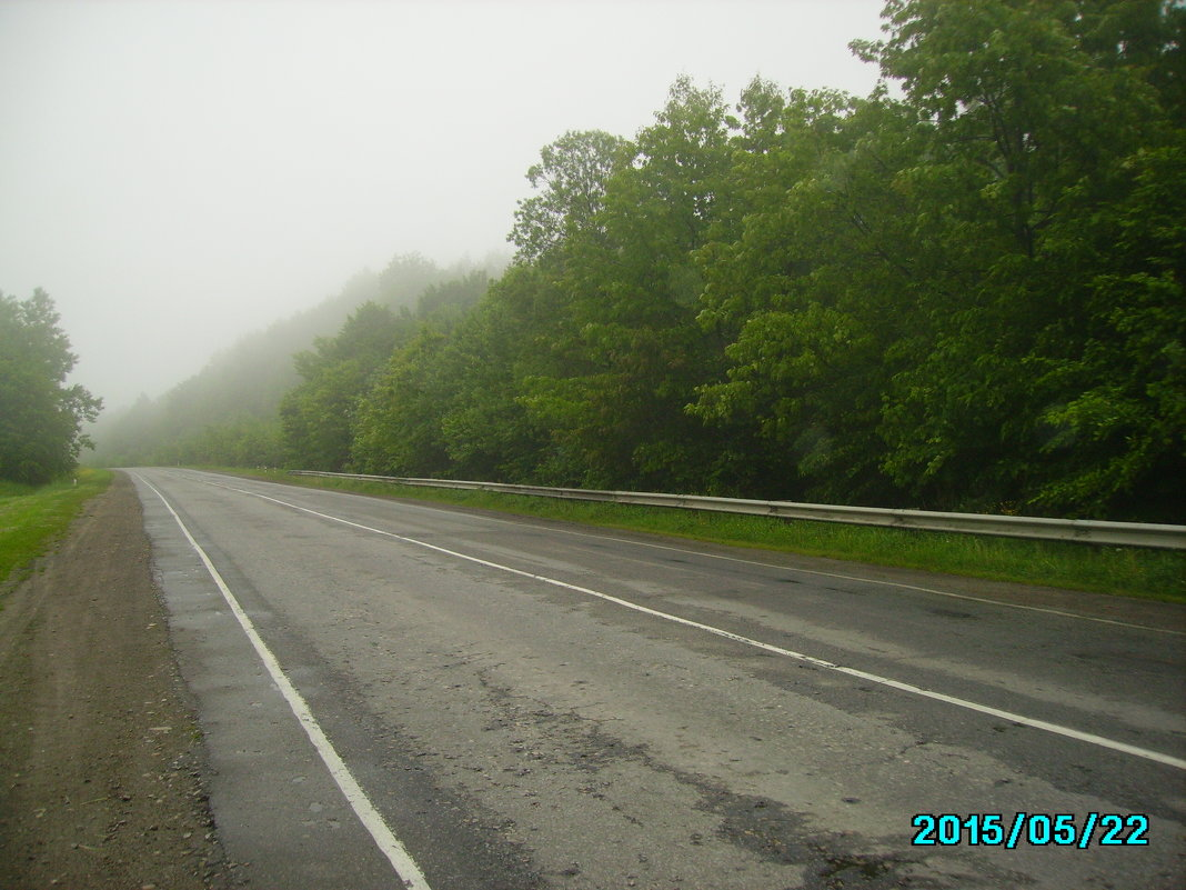 Автодорога  в   Крылосе - Андрей  Васильевич Коляскин
