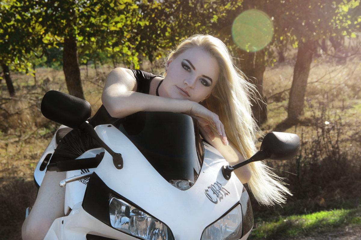 Байкерская фотосессия для Анастасии - Ольга Гудым