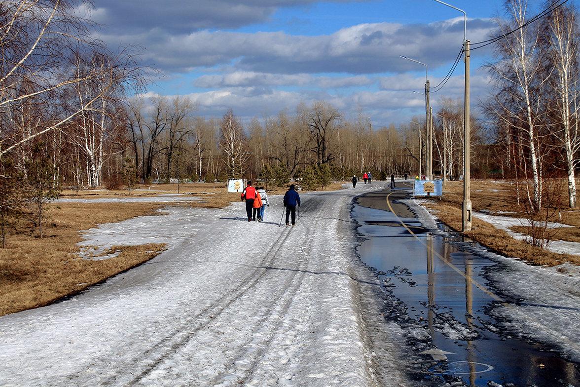 Рыхлый мартовский снег и синь небес - Екатерина Торганская