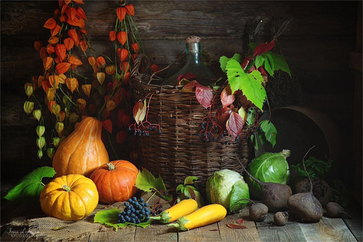 Осенние дары природы - Ирина Лепнёва