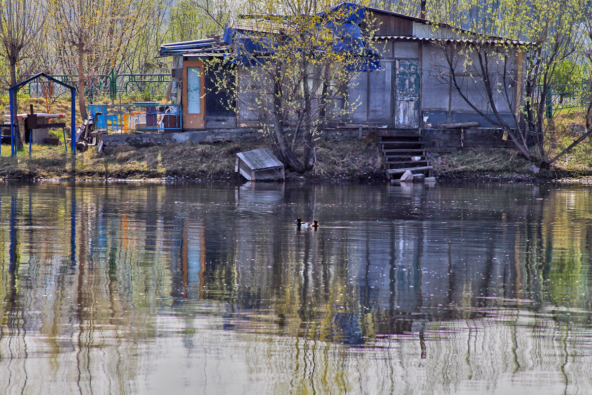 Там, где живет речной дух... - Екатерина Торганская