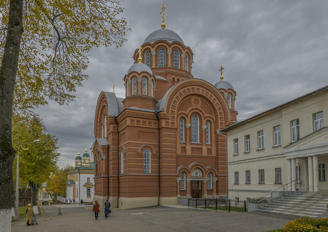 Никольский храм в Хотьковском Покровском монастыре. - Михаил (Skipper A.M.)